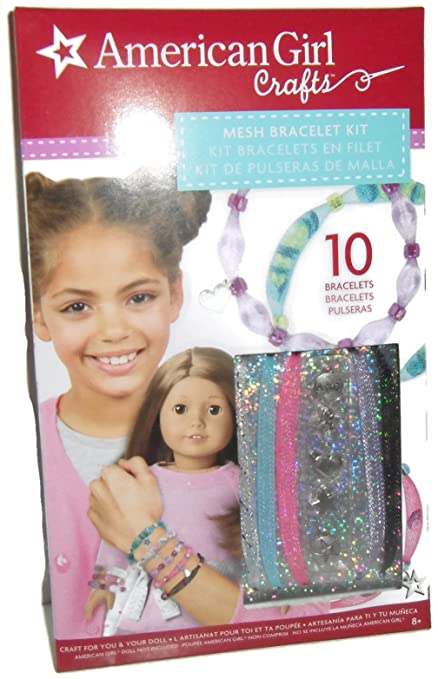 4b1300937 Image Unavailable. Image not available for. Color: American Girl Crafts  Mesh Bracelet Kit