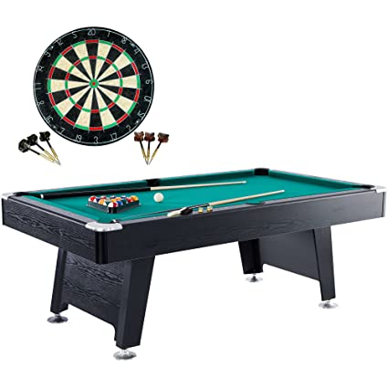 Super Barrington 84 Inch Arcade Billiard Table Pool Table Bonus Dartboard Perfect For The Home Game Room Perfect For Kids Or Adults Home Interior And Landscaping Spoatsignezvosmurscom