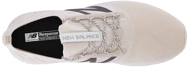 New Balance Herren Fuel Core Coast V4 Sneaker, schwarz, M Moonbeam/Team Away Grey/Phantom