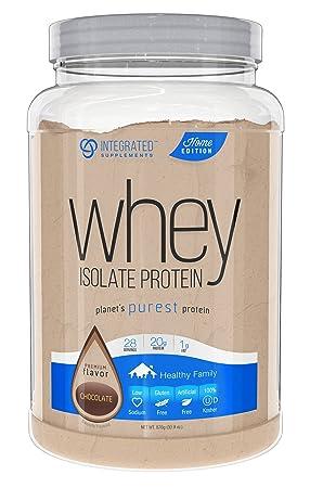 Integrated Supplements CFM Whey Protein Isolate Diet Supplement, Dutch Chocolate, 840 Gram