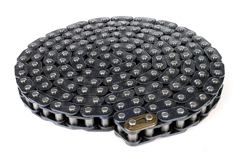 70 Links // 140 Pins, Steel Drive Chain Midi Moto 8mm T8F