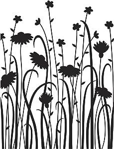 Darice Wild Flower Field Embossing Folder