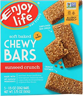 product image for Enjoy Life Sunbutter Crunch Snack Bar, 5 Ounce -- 6 per case