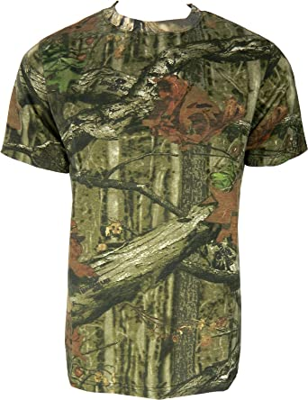 1363b8313c3b1 Mens Jungle Print Camouflage Short Sleeve T-Shirt or Vest Camo Hunting  Regular and Plus Size Top: Amazon.co.uk: Clothing