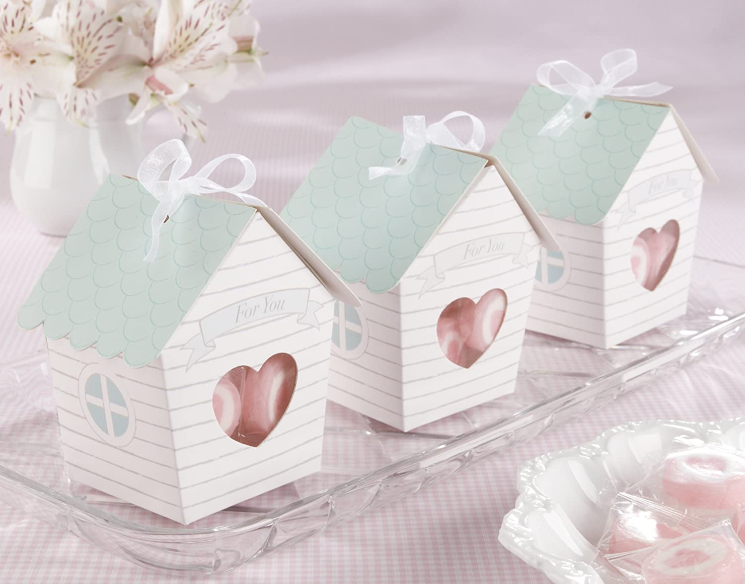 Amazon.com: Kate Aspen Set of 24 Bird House Favor Box ,Home Tweet ...