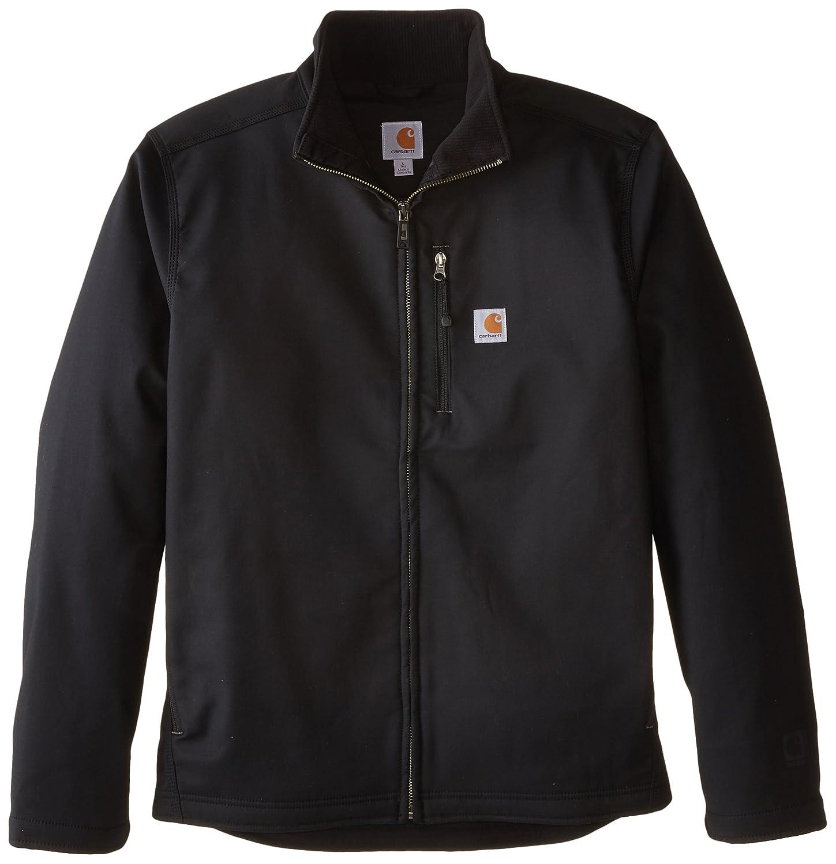 CarharttメンズBig & Tall Pineville Jacket B00S8OREOA L|ブラック ブラック L