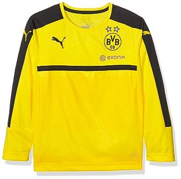 Puma - Camiseta de Manga Larga de Entrenamiento del Borussia Dortmund para  Hombre 8f06f68e12885