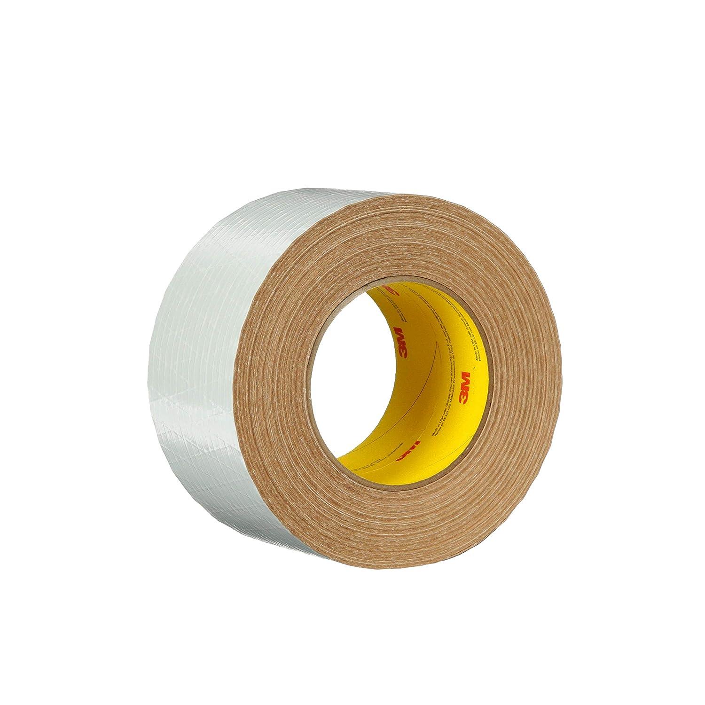 3M Venture Tape Metal Building Facing Tape 1537CW, White, 72 mm x 45.7 m, 16 rolls per case
