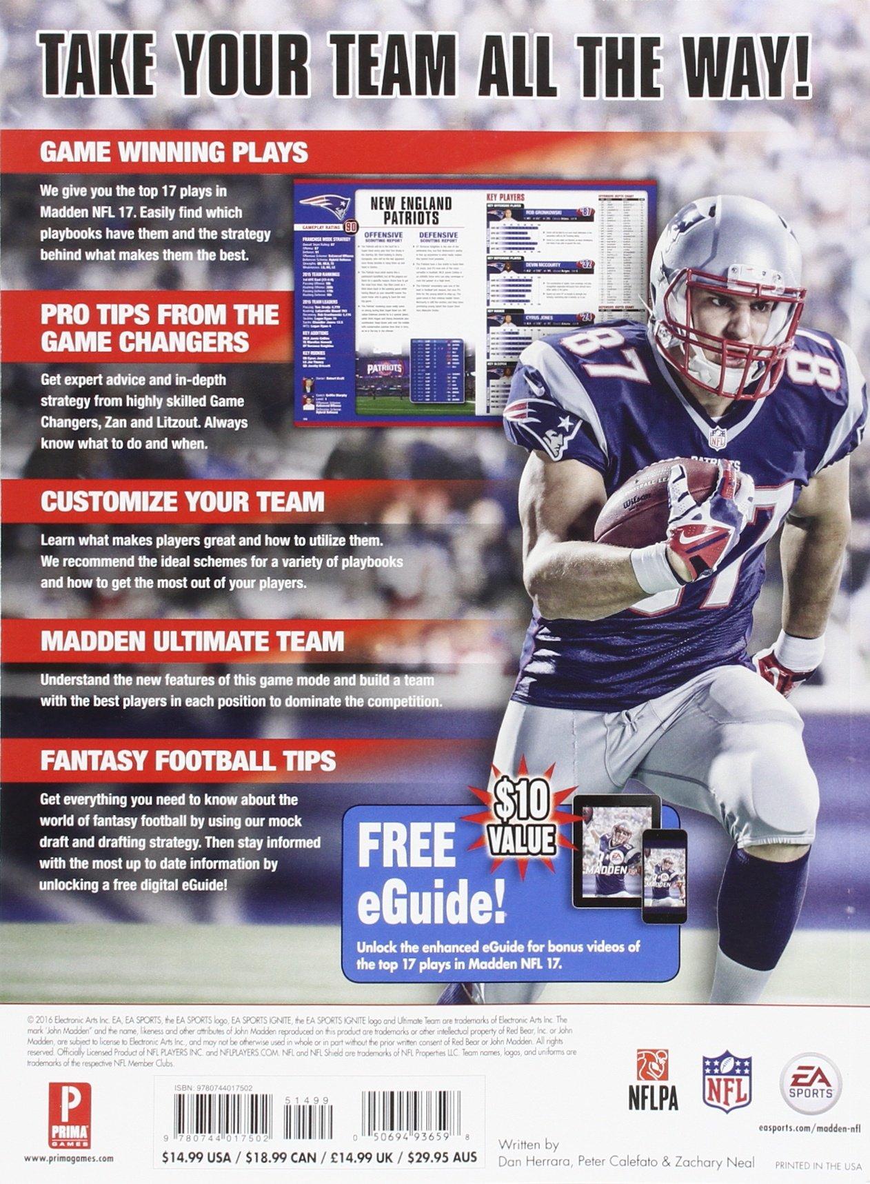 Madden NFL 17: Prima Official Guide: Daniel Herrera