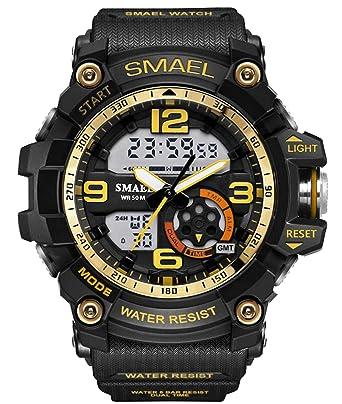 Amazon.com: Reloj militar para hombre, para estudiantes ...