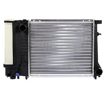 Radiador de agua para vehículos con caja de marchas manual y sin aire acondicionado BMW SERIE