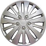"""Drive Accessories KT-1028-16S/L, Honda Accord, 16"""" Silver Replica Wheel Cover, (Set of 4)"""