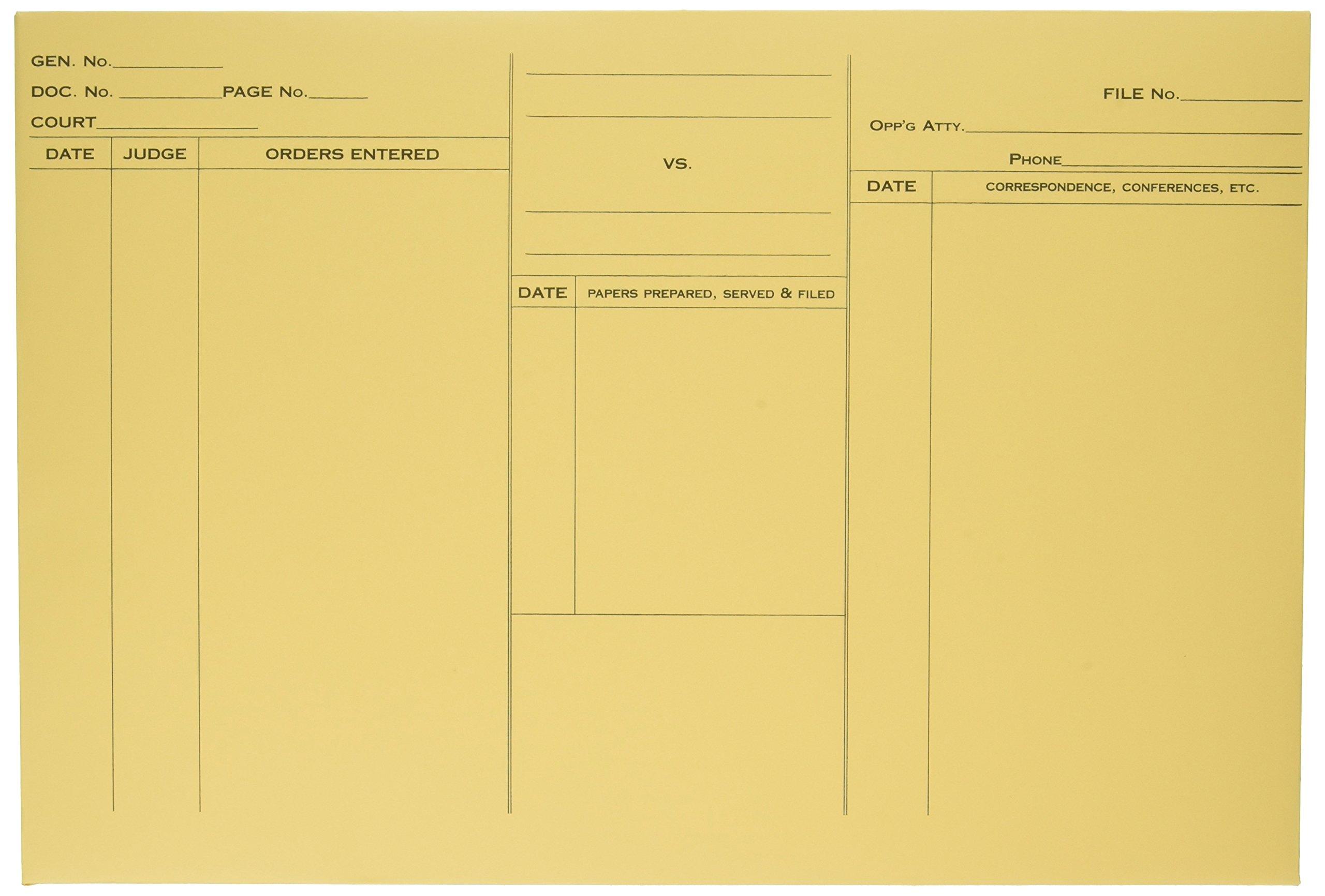 Quality Park 89701 Quality Park Attorney's Envelopes, Ungummed, 10x14-3/4, Heavy Cameo Buff,100/Bx by Quality Park