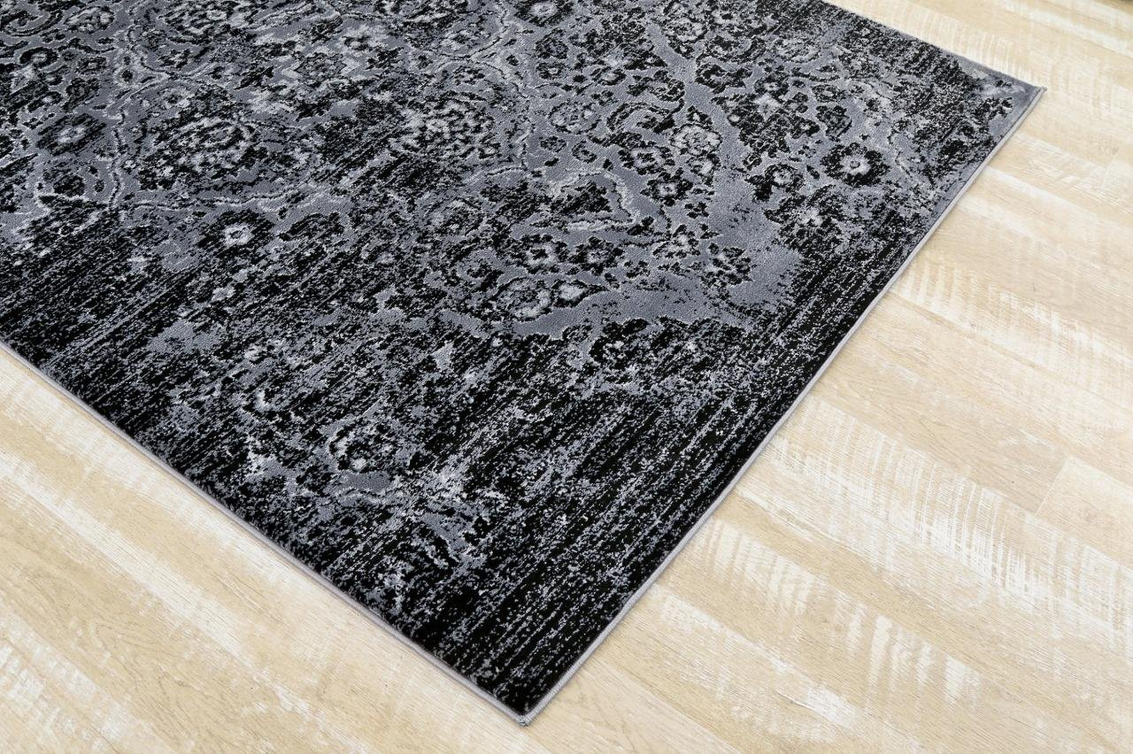 bef81c8dc5f 4620 Distressed Blue 5 2x7 2 Area Rug Carpet Large