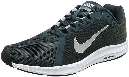Nike Downshifter 8, Scarpe da Running Uomo, Verde (Deep Jungle/Light Pumice/Clay 300), 38.5 EU