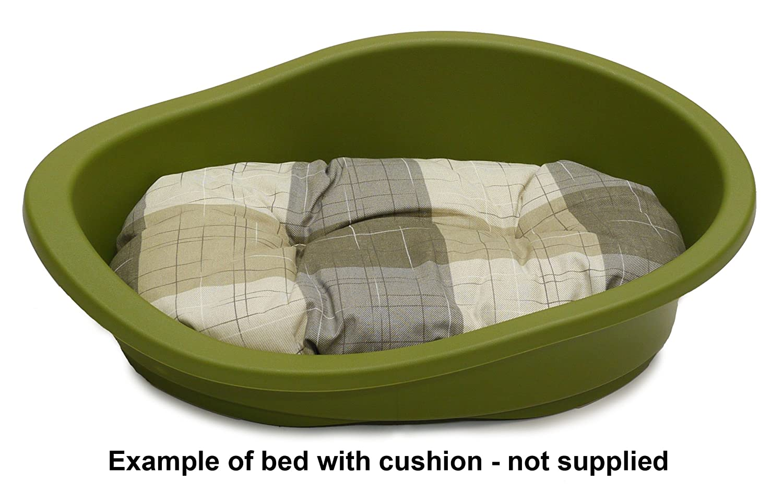 Rosewood SONNY Classic plástico perro cama verde: Amazon.es: Productos para mascotas