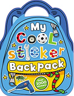 05e58efb7e2c My Girly Swirly Sticker Backpack: Chris Scollen: 9781780653822 ...