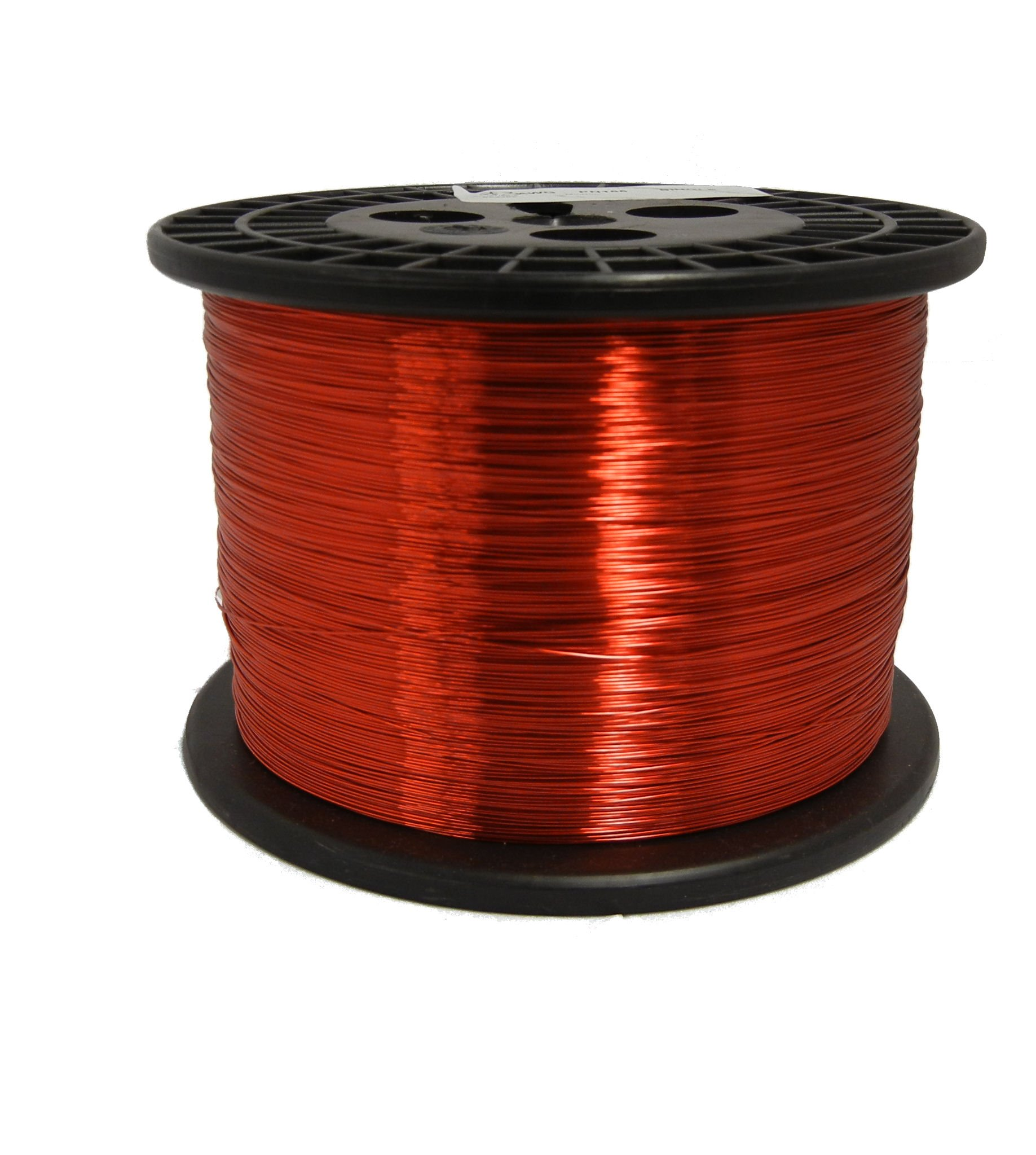 Remington Industries 19SNS Magnet Wire, Enameled Copper Wire, 19 AWG, 5.0 lb, 1265' Length, 0.0370'' Diameter, Red