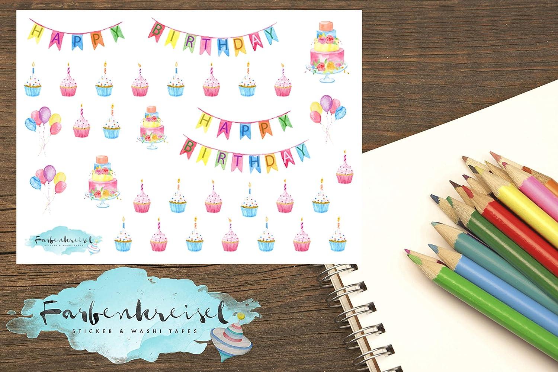 Geburtstag Sticker