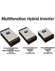 Inversor Onda Pura Hibrido 3kva 5kva Regulador 50a 60a 80a Ac cargador 60a (24v/3kva/pwm50a/30a)