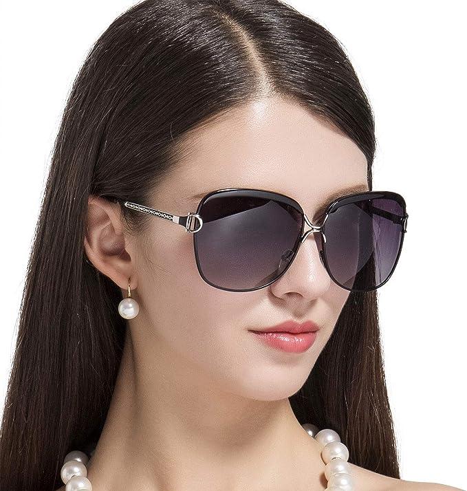 Prtukyt Polarisierte Sonnenbrillen für Damen, Sonnenbrille