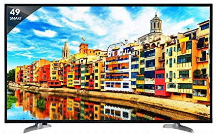 Skyworth 124 5 cm (49 Inches) Full HD LED Smart TV 49 M20 (Black)