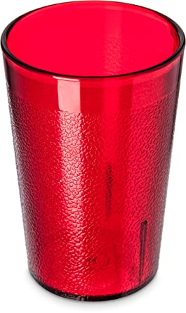 Carlisle 5526 8110 Stackable Shatter Resistant Plastic Tumbler 8 Oz Ruby Pack Of 6 Amazon Ca Industrial Scientific