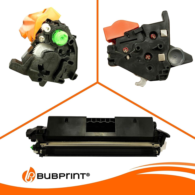 2 Bubprint XXL tóner compatible con HP CF217X 17X CF217A 17A ...