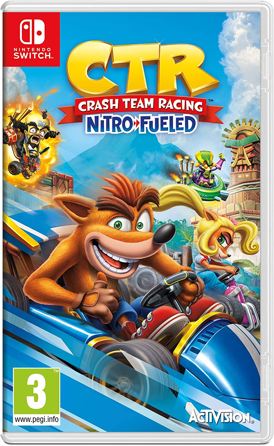 Crash Team Racing Nitro-Fueled - Nintendo Switch [Importación ...