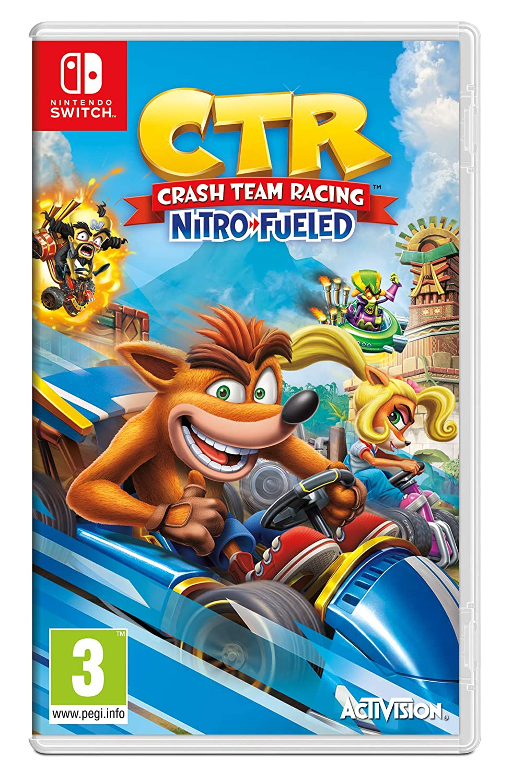 Amazon Com Crash Team Racing Nitro Fueled Nintendo Switch