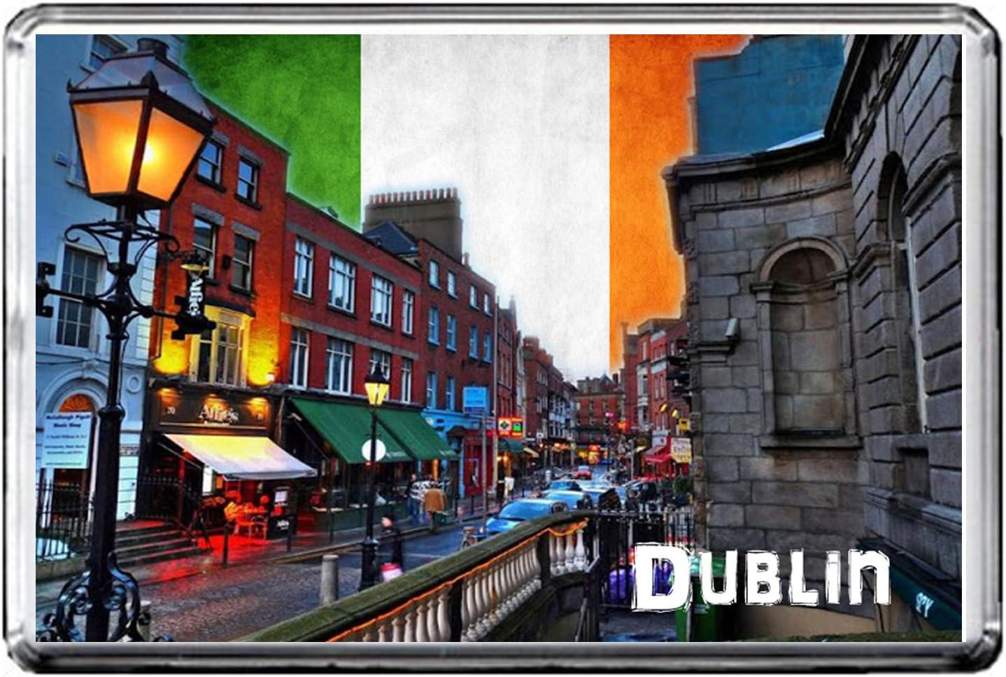 C271 DUBLIN AIMANT POUR LE FRIGO IRELAND TRAVEL REFRIGERATOR MAGNET