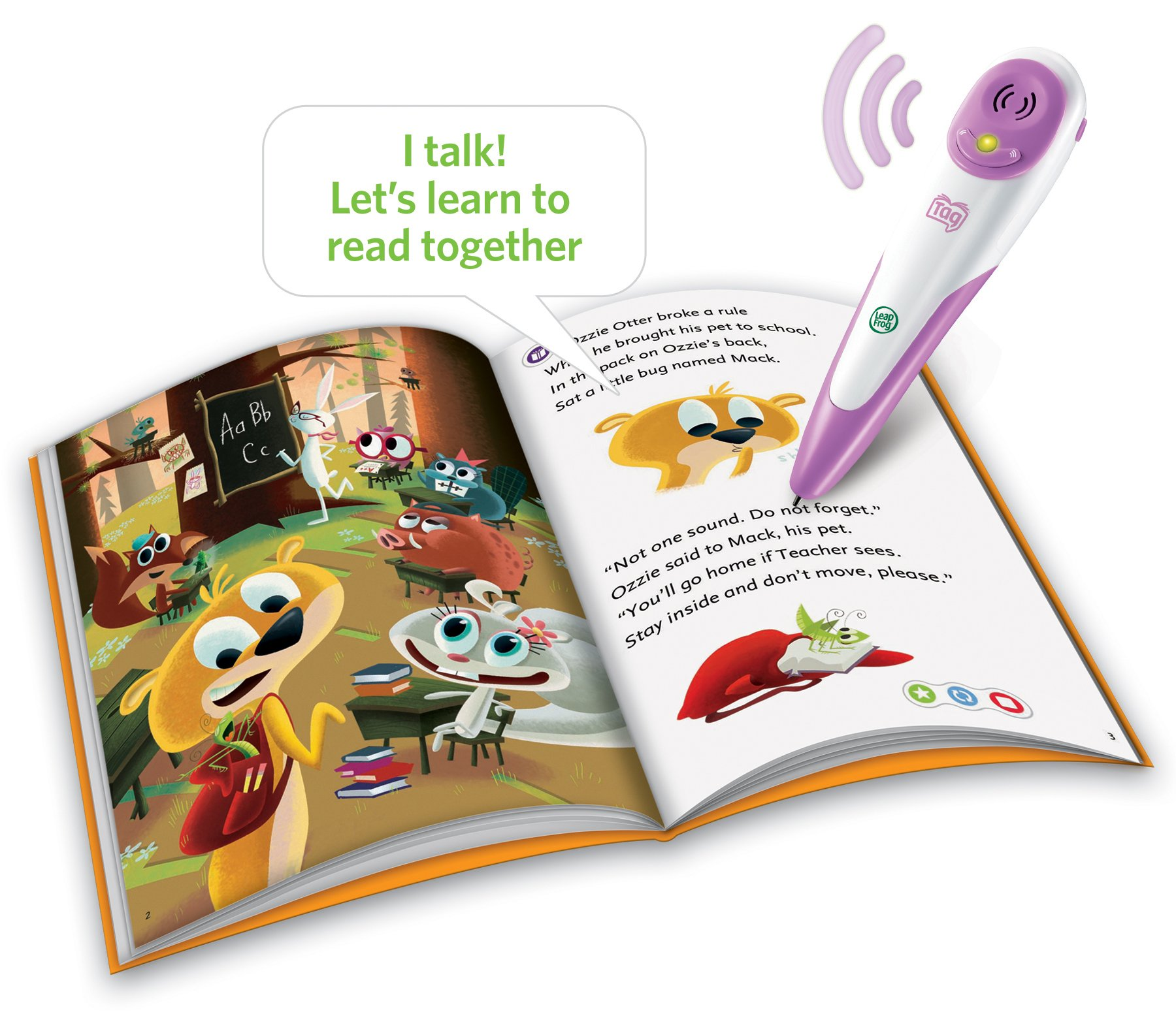 LeapFrog Tag Reading System - Pink by LeapFrog (Image #3)