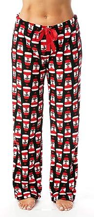 42a885b70d Just Love Women s Cute Character Print Plush Pajama Pants - Petite ...