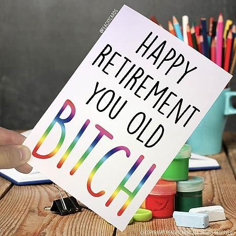 Amazon.com: Tarjetas de jubilación, tarjetas divertidas ...