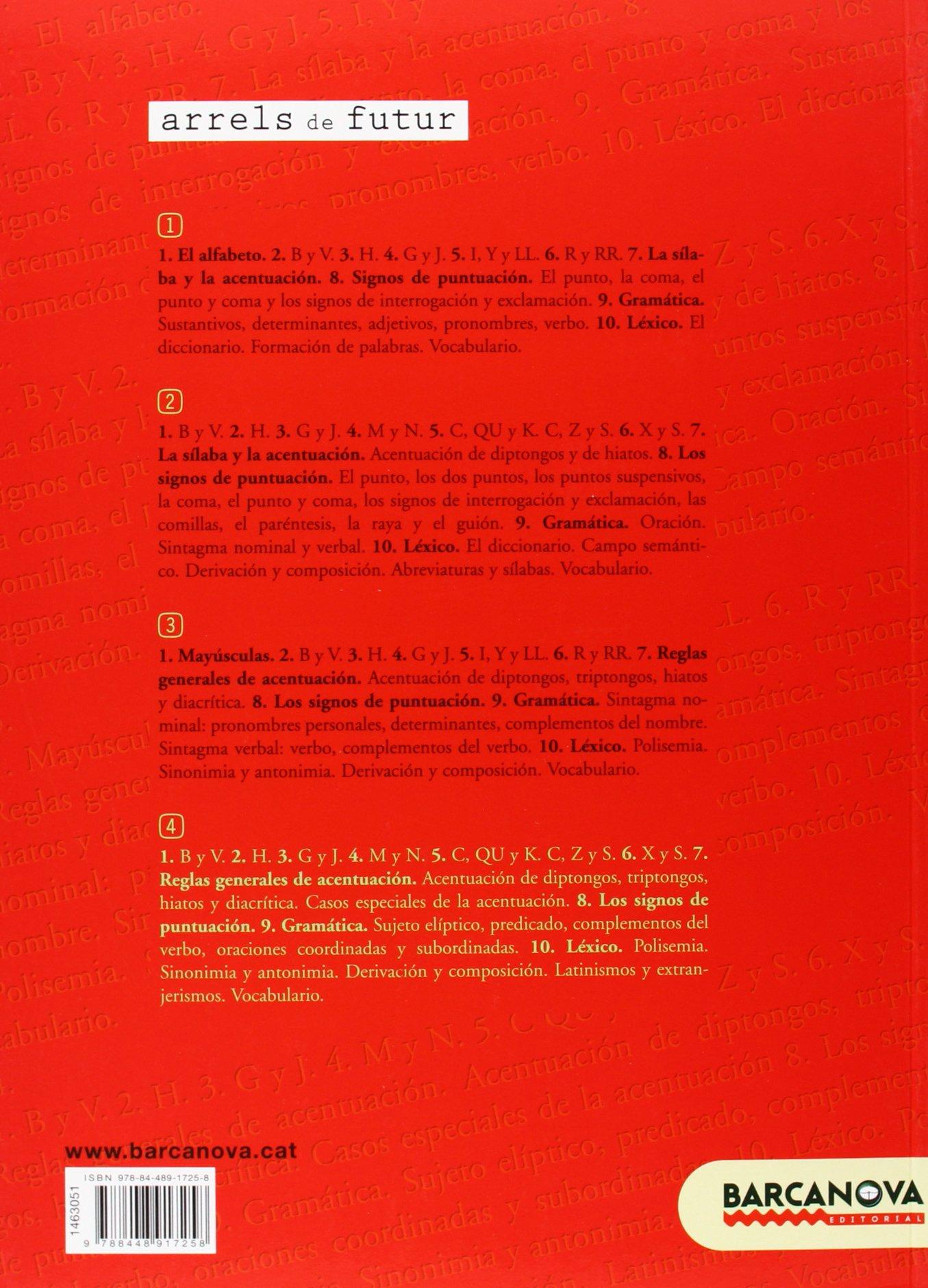 Lengua castellana, 4 ESO (Baleares, Cataluña). Cuaderno de refuerzo: Francisca Ezquerra Lezcano: 9788448917258: Amazon.com: Books