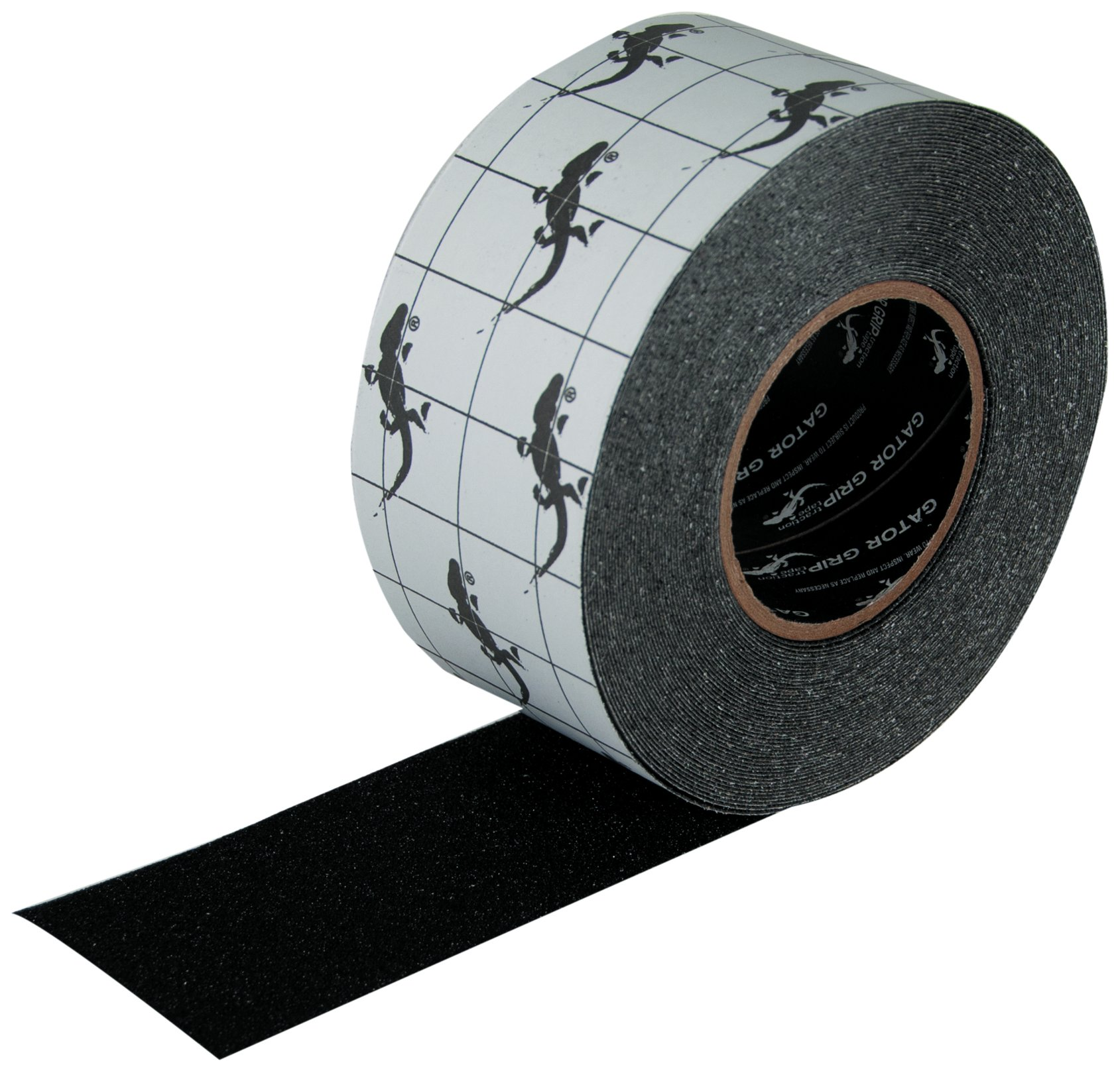 Gator Grip  : SG3103B Premium Grade High Traction Non Slip 60 Grit Indoor Outdoor Anti-Slip Tape, 3 Inch x 60 Foot, Black