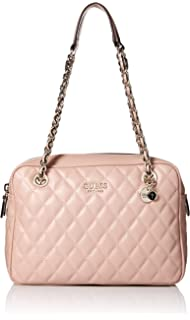 5c569581f9e Amazon.com: GUESS Sweet Candy Large Satchel, Cameo, One Size: Clothing