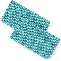 Pack 2 Alfombra bañera Antideslizante y Resistente de 68 x 37 cm. Esterilla de Tina sin BPA Antibacterial. Alfombrilla…