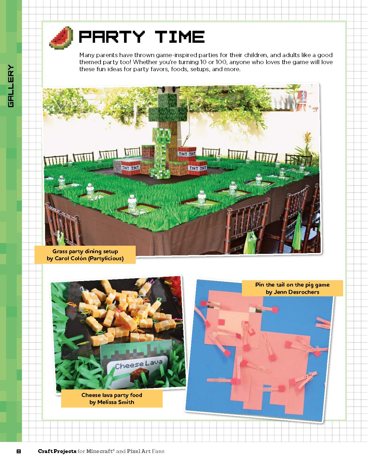 Craft Projects for Minecraft and Pixel Art Fans: 5 Fun, Easy-To ...