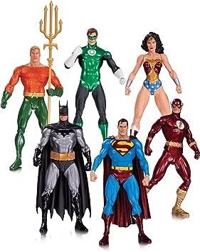 DC Comics Liga de la Justicia Alex Ross Pack 6 Minifiguras ...