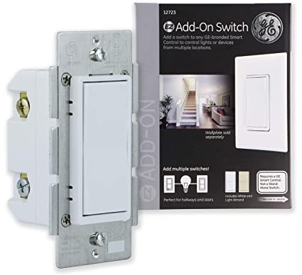 GE Add-On Switch for GE Z-Wave, GE ZigBee and GE Bluetooth Wireless on