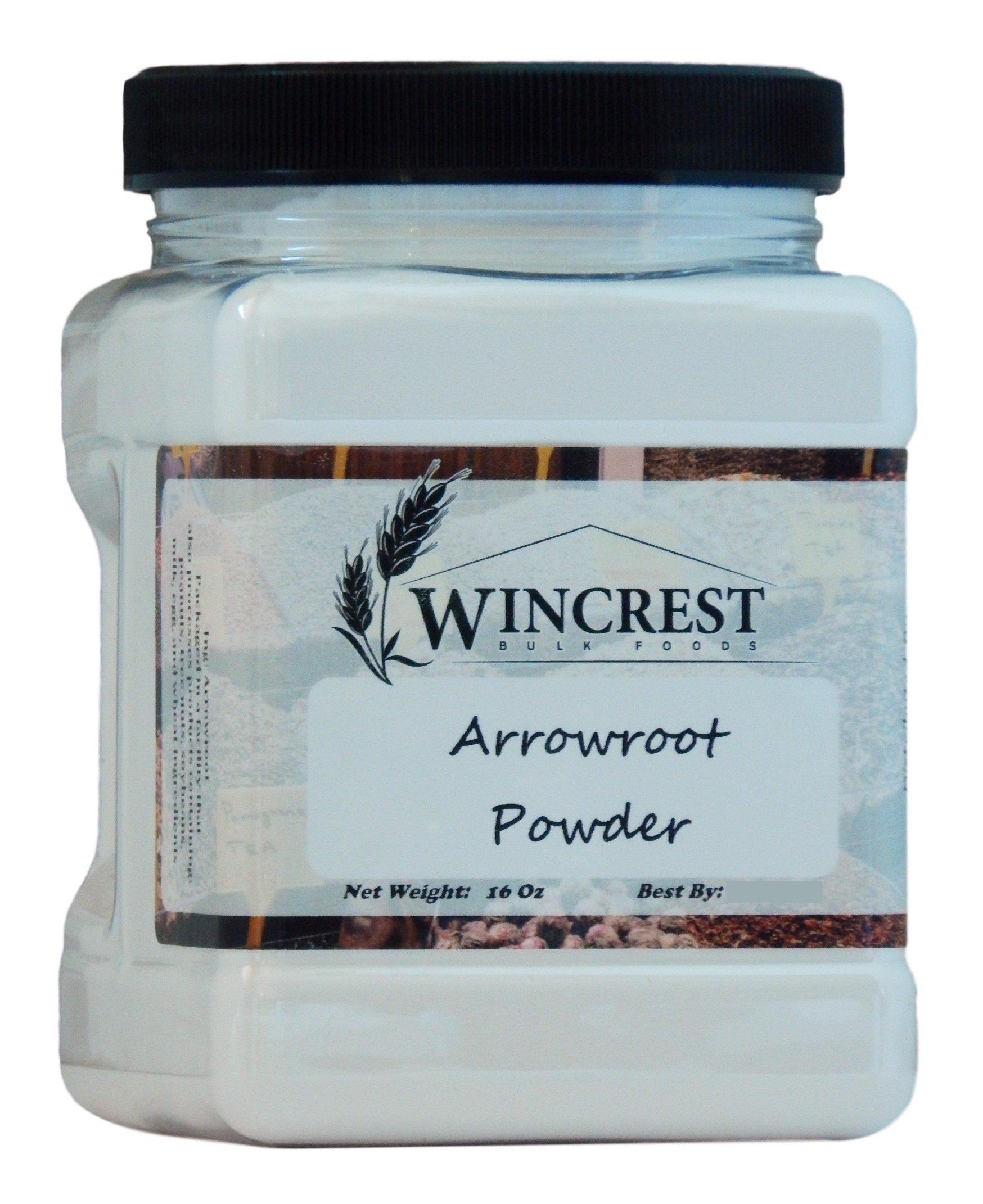Arrowroot Powder 1 Lb by WinCrest BulkFoods