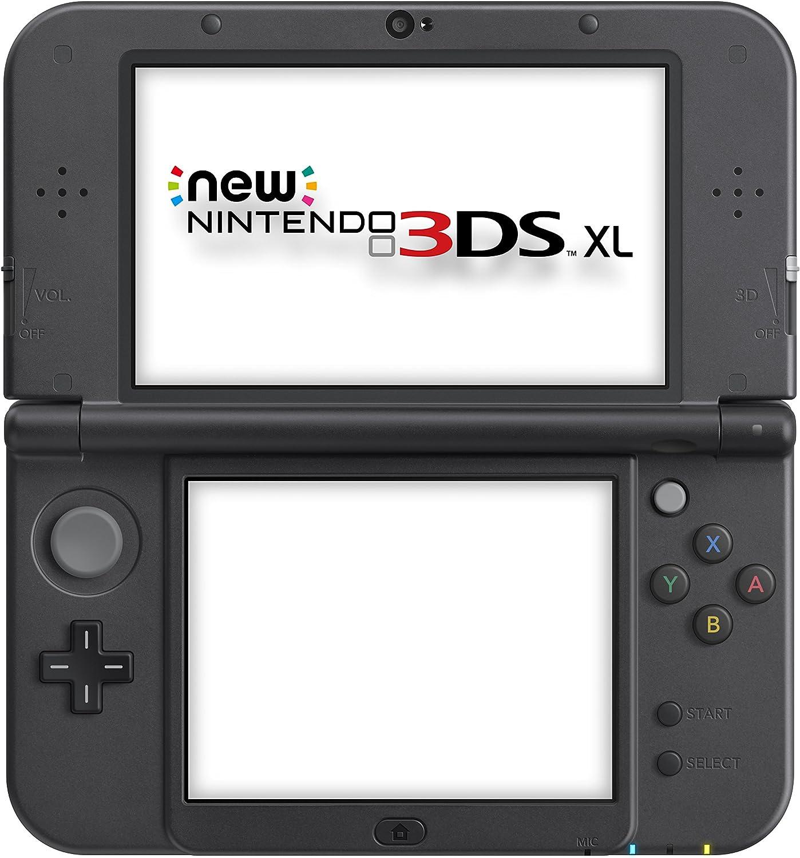 Amazon.com: Nintendo New 3DS XL Solgaleo Lunala Black ...