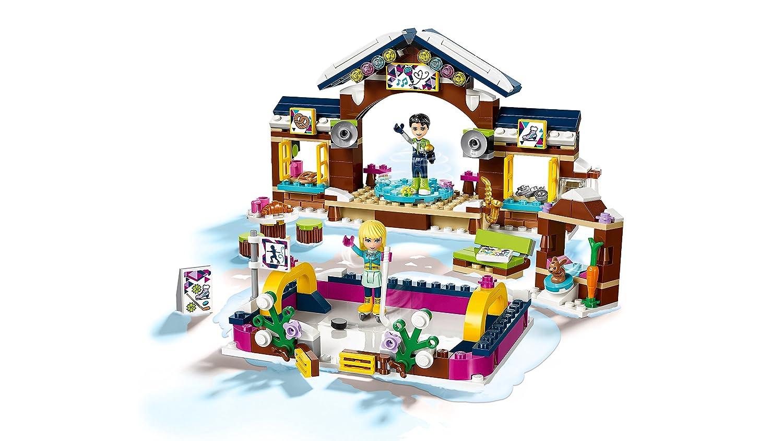Lego Uk 41322 Snow Resort Ice Rink Construction Toy Lego Amazonco