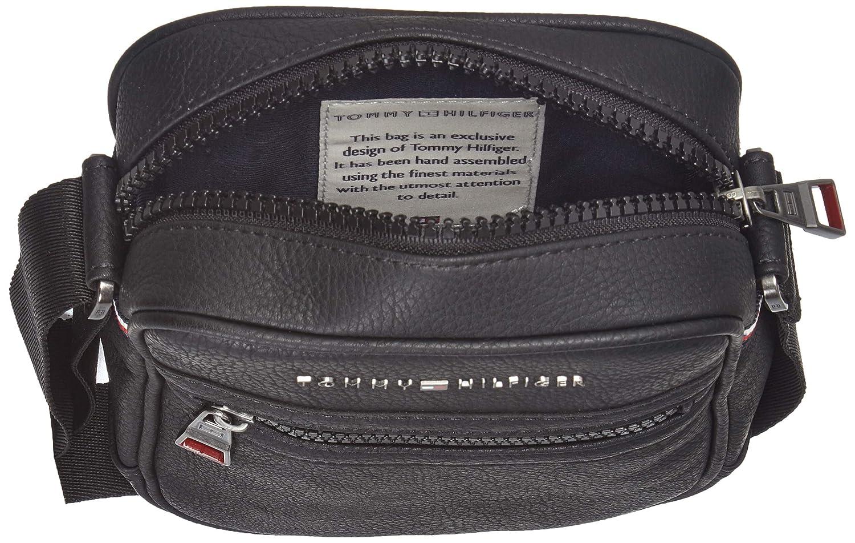 c9fb3024a4dc8c Tommy Hilfiger Essential Mini Reporter, Borse Uomo, Nero (Black), 16x20x5  cm: Amazon.it: Scarpe e borse