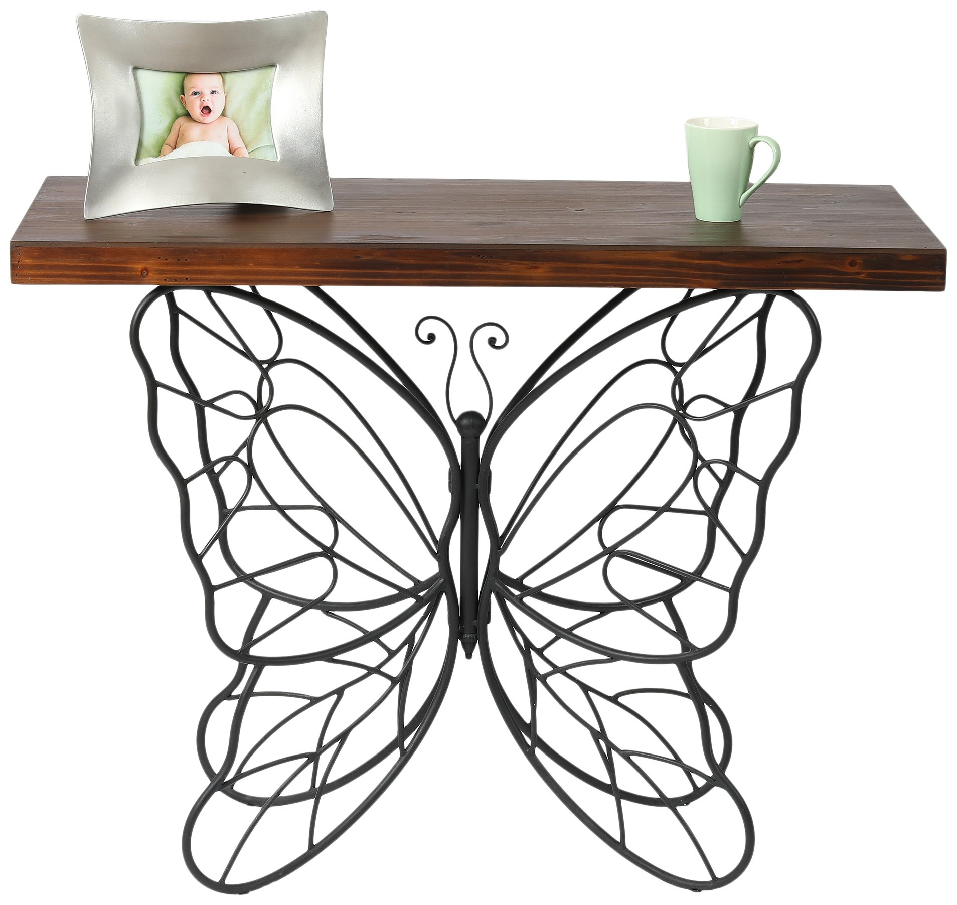 Winsome House Butterfly Accent Table