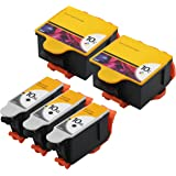 GPC Image 5 Pack Compatible Replacement for Kodak 10XL 10 XL (3 Black, 2 Color) 8946501 8237216 for use in ESP 3 3250 5 5210 5250 7 7250 9 9250 Office 6150 EasyShare 5100 5300 5500 Hero 6.1 7.1 9.1