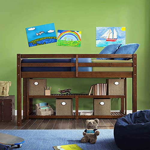 Better Homes and Gardens Twin Loft Storage Bed