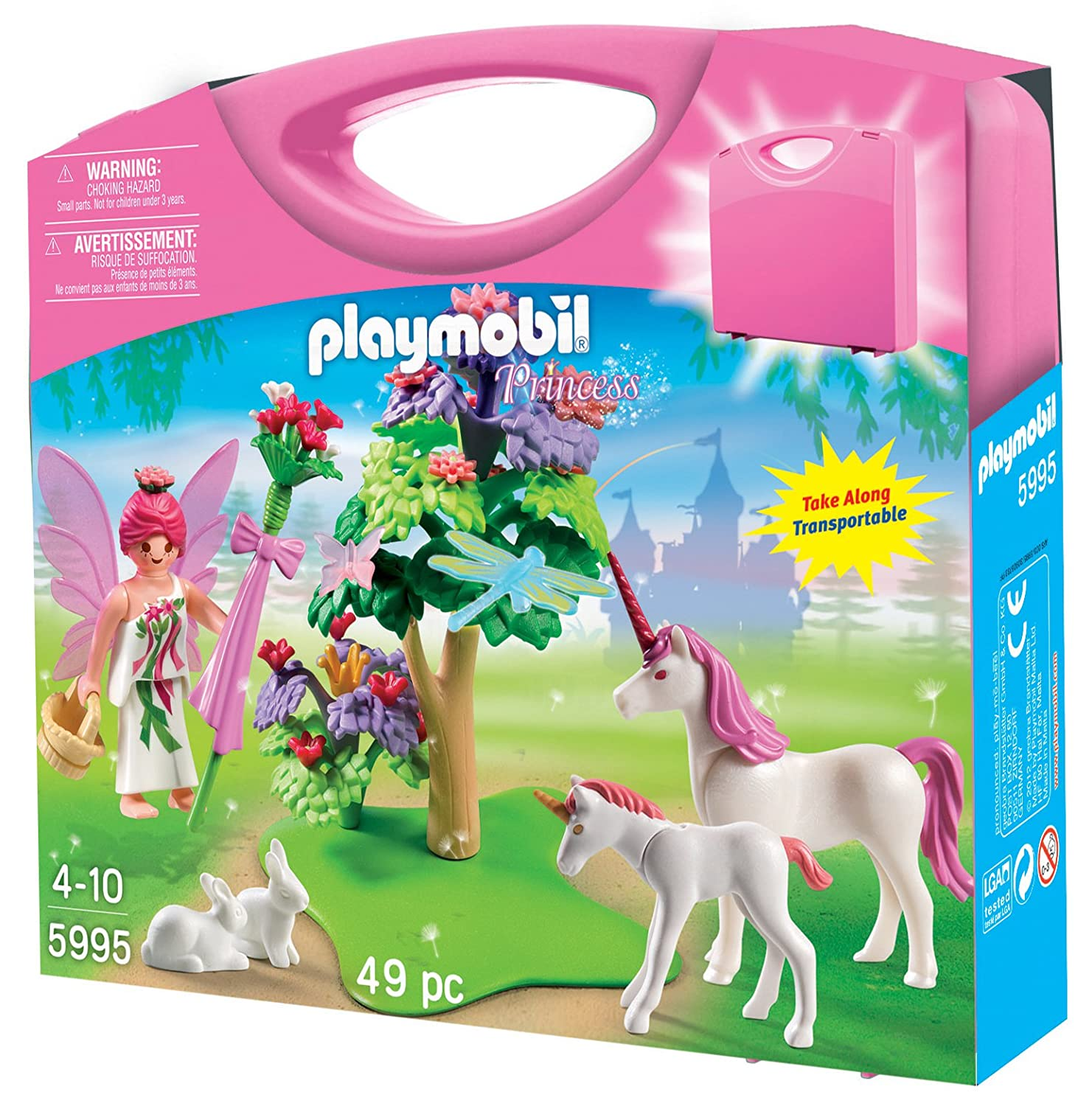 playmobil carrying case fairy building sets amazon canada - Play Mobile Fille