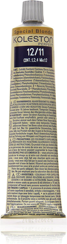 Koleston - Tinte para cabello (60 ml), 12/11 rubio ceniza intenso especial